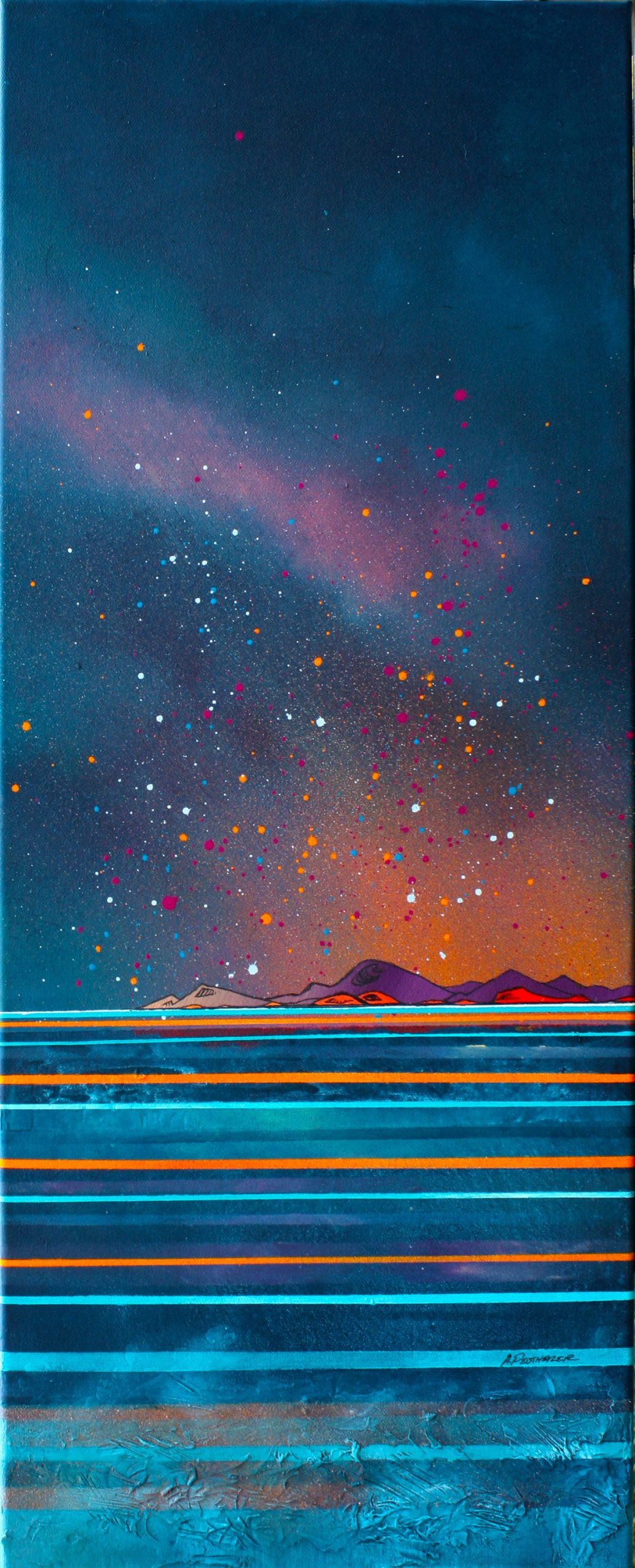 Isle of Skye - Painting & prints, Scotland by Scottish Artist Andy Peutherer