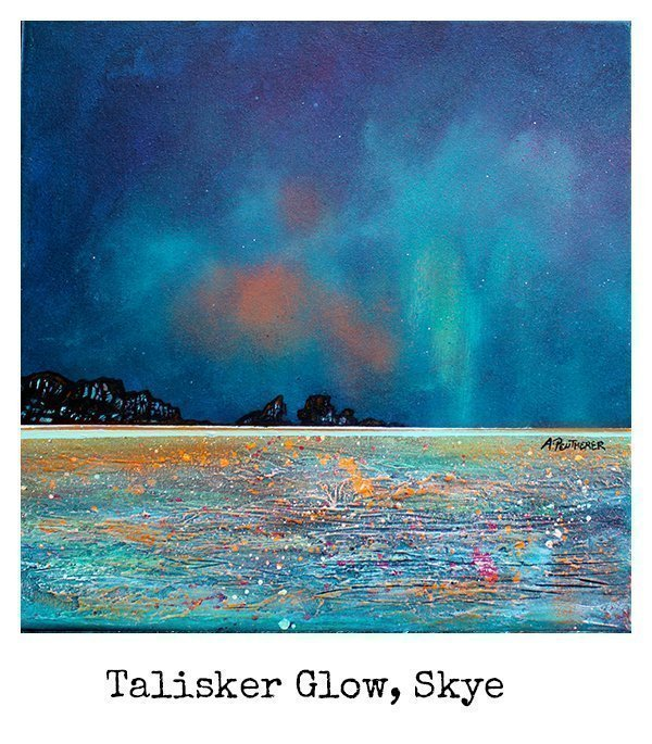 Talisker, Skye Scotland - original Painting Canvas & Art Prints Of The Hebrides