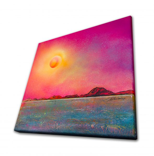Ben More, Isle Of Mull, Hebrides, Scotland - original Painting Canvas & Art Prints - 3D View 2