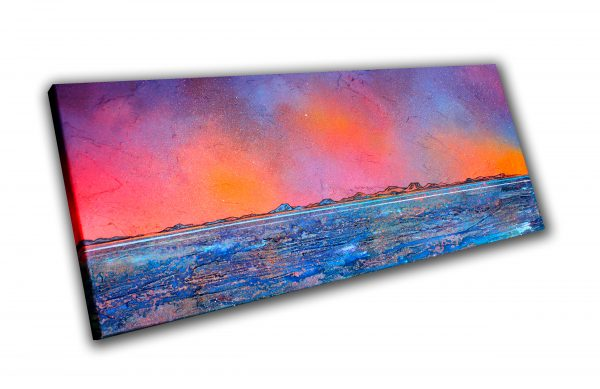 Isle Of Harris- original Painting Canvas & Art Prints Of Outer Hebrides - 3D View 2