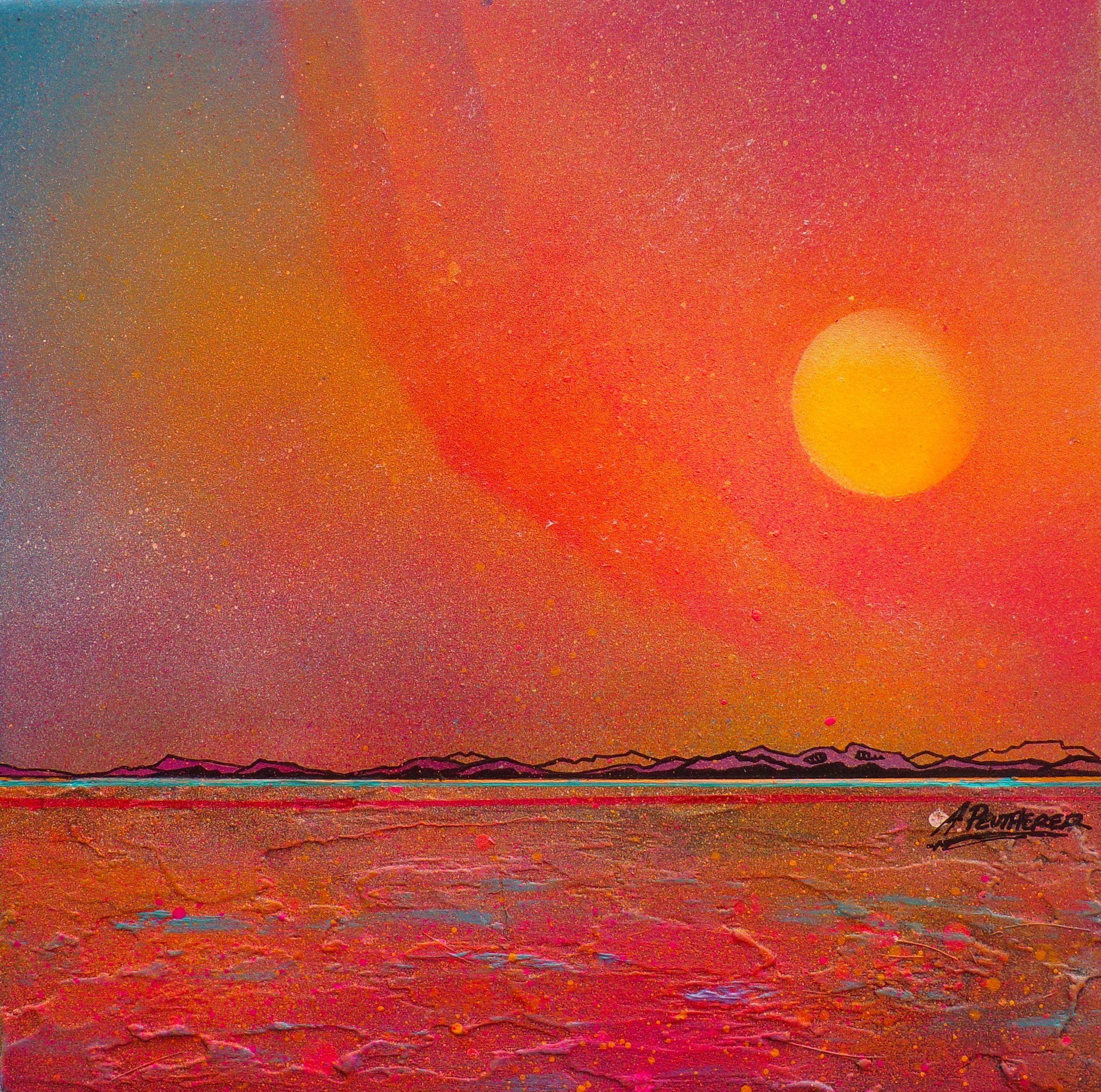 Isle Of Arran, Ayrshire, Scotland - original Painting Canvas & Art Prints