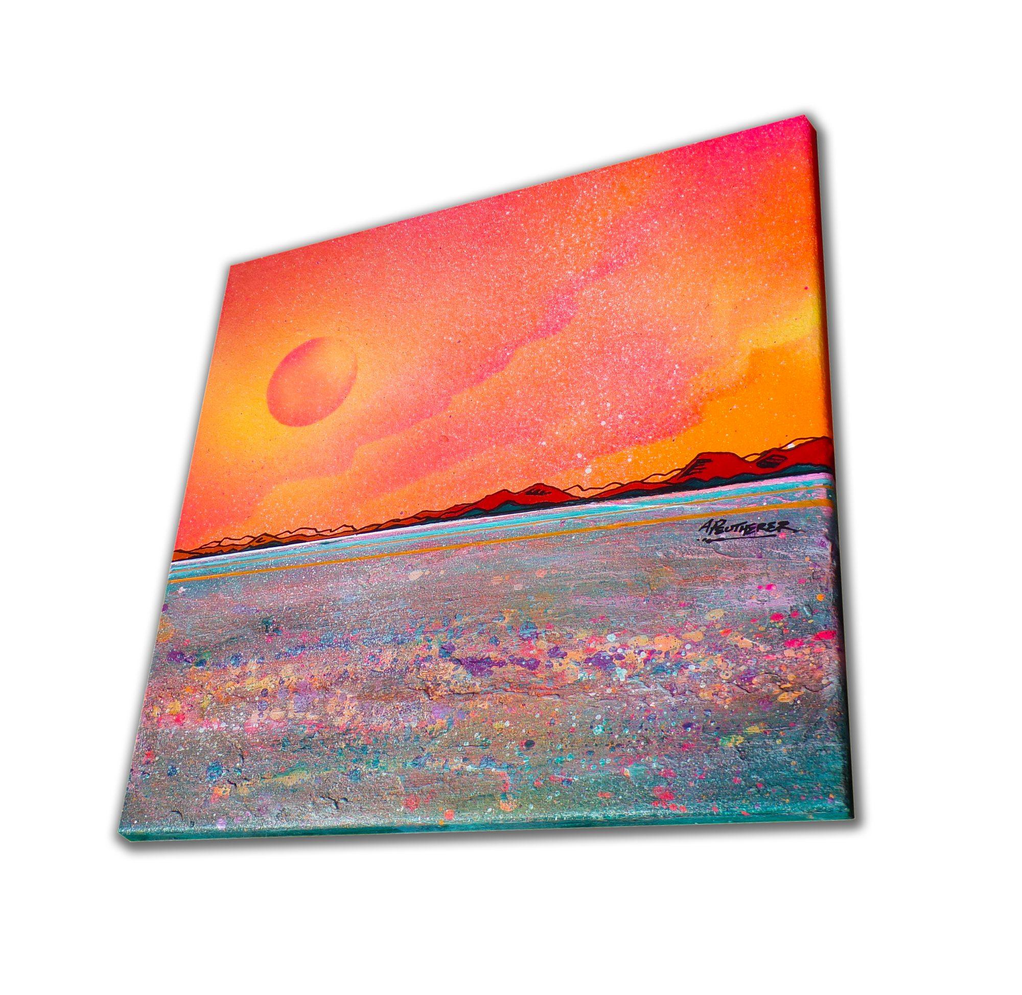 Sanna Bay, Ardnamurchan, Scotland - original Painting Canvas & Art Prints - 3D View
