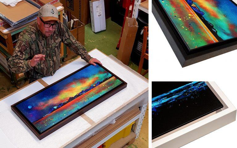 Skye - Float Framed Block Mounted Art Print